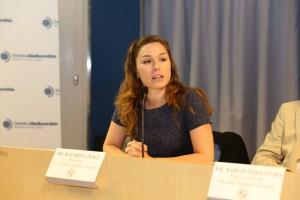 Katarina Tracz, chef på tankesmedjan Frivärld
