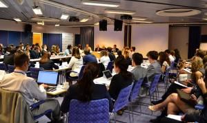 125 ungdomar från 55 olika länder besökte Stockholm som en del av en fyra dagar lång utbildning inom Model Nato Youth Summit